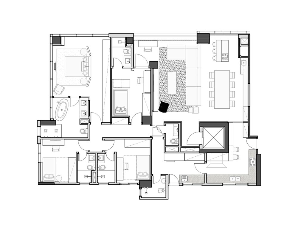Interiores - planta