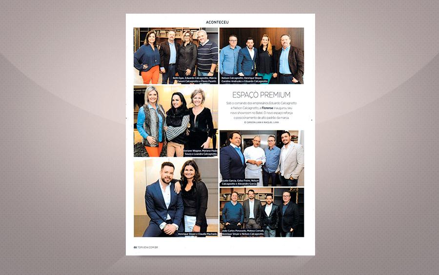 Inauguração novo Showroom Florense - Top Revista View